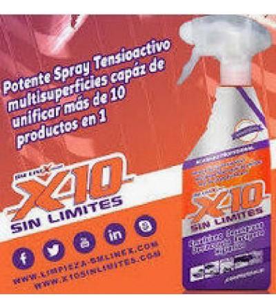 Limpiador multiusos X10 sin...
