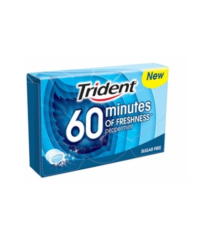 Chicles Trident 60 min